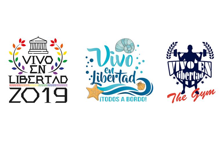 Logotipos para carroza Orgulo LGTBI