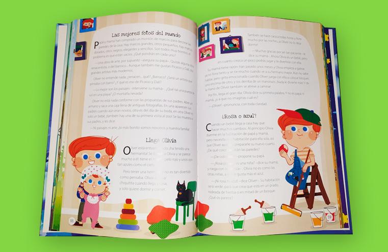 Maquetación - Ilustración libro '365 cuentos para soñar' (Libsa)