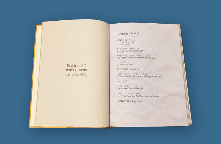 Maquetación libro 'La Primera piedra' (Mueve Tu Lengua)